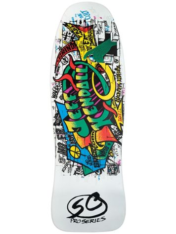 "Santa Cruz Kendall Graffiti R 9.69"" Skateboard Deck"