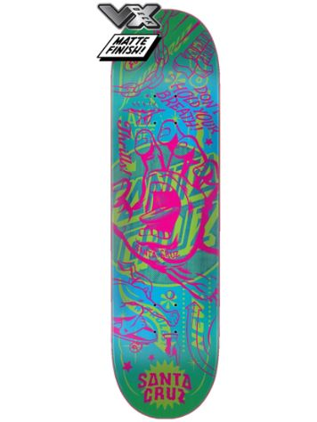 "Santa Cruz Flash Hand VX 8.8"" Skateboard Deck"