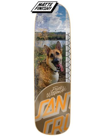 "Santa Cruz Photo OP 9.0"" Skateboard Deck"