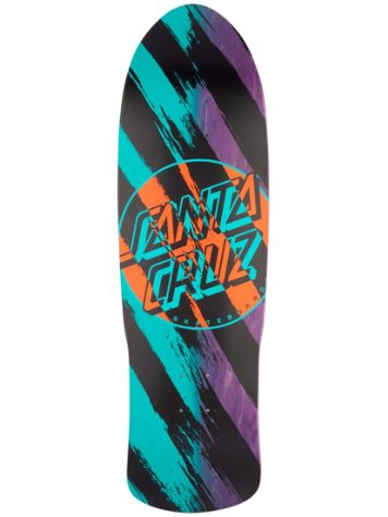 "Santa Cruz Brush Dot Preissue 9.4"" Skateboard Deck"