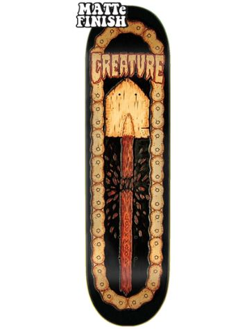 "Creature Leather 8.25"" Skateboard Deck"