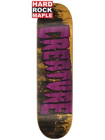 "Creature Lg Wash SM HR Maple 8.0"" Skateboard Deck"