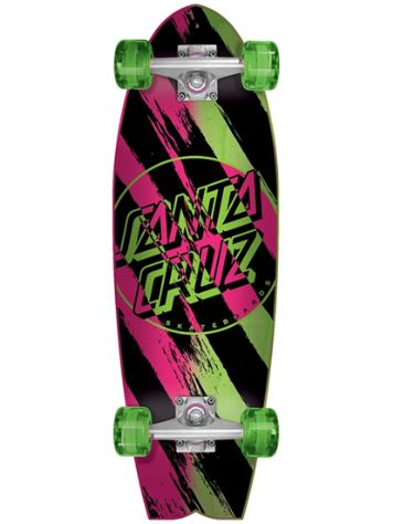 "Santa Cruz Bush Dot Cruzer Shark 8.8"" Complete"