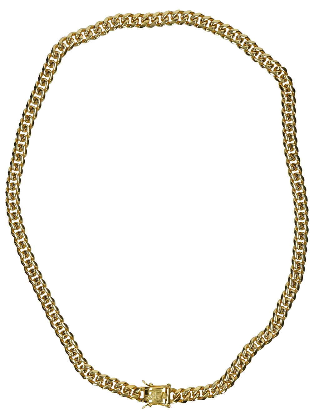 "8mm 22"" Miami Cuban Link Chain"