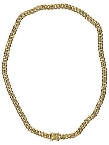 "The Gold Gods 8mm 22"" Miami Cuban Link Chain"