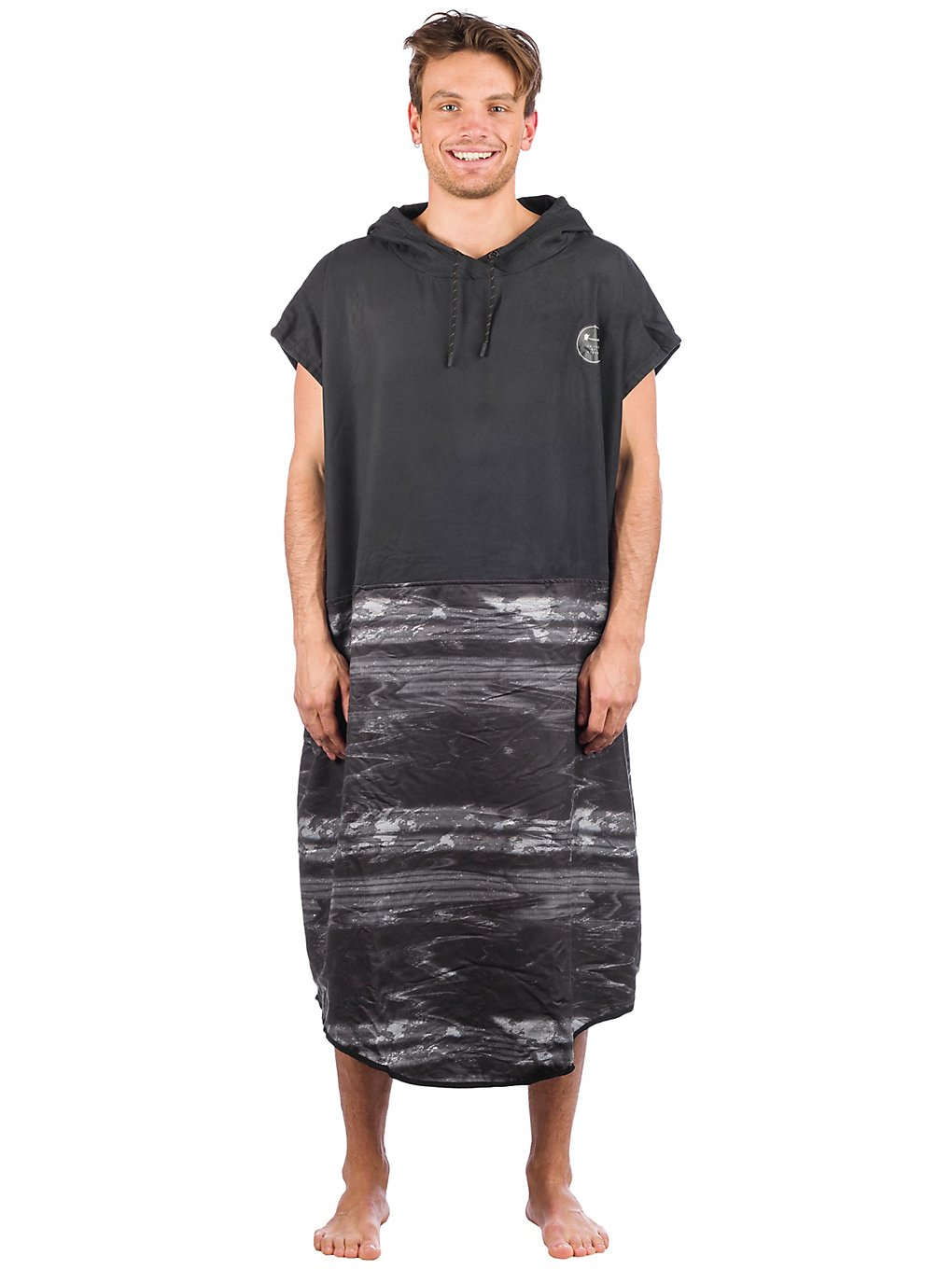 Ion Select Surf Poncho black capsule