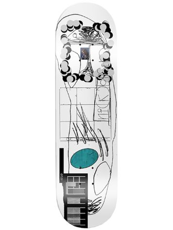 "Isle Scanner Series Jensen 8.375"" Skateboard Deck"