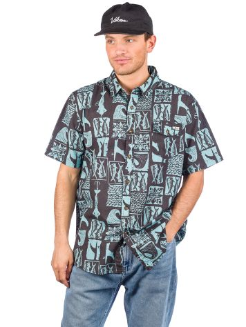 Salty Crew Cut Out Camisa