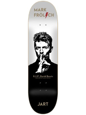 "Jart Cut Off Frolich 8.0"" Skateboard Deck"