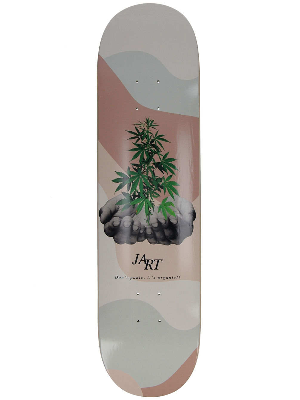"Let it Be 8.0"" Skateboard Deck"
