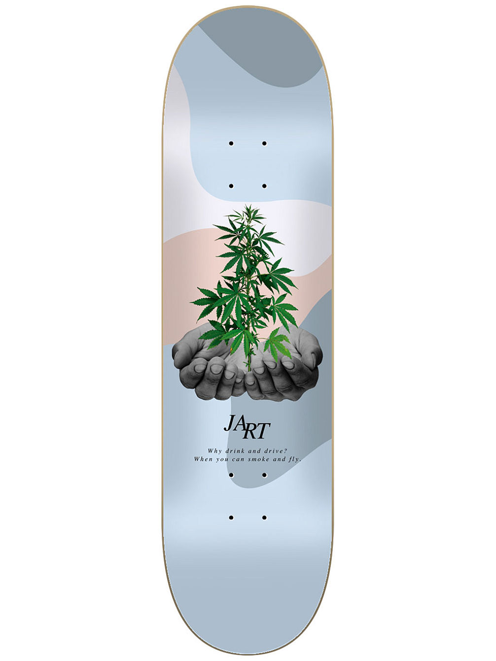 "Let it Be 8.125"" Skateboard Deck"