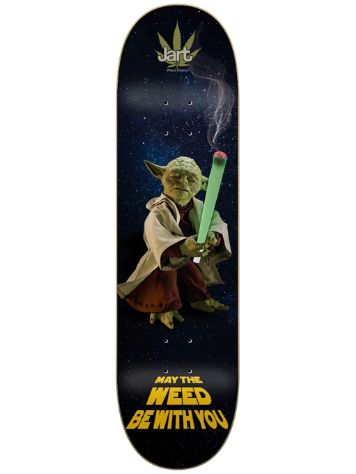 "Jart Weed Nation Yoda 8.375"" Skateboard Deck"