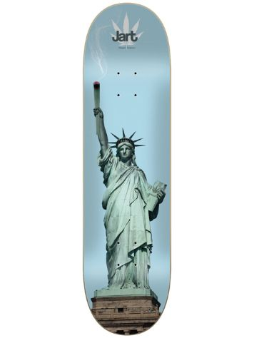 "Jart Weed Nat Liberty 8.625"" Skateboard Deck"