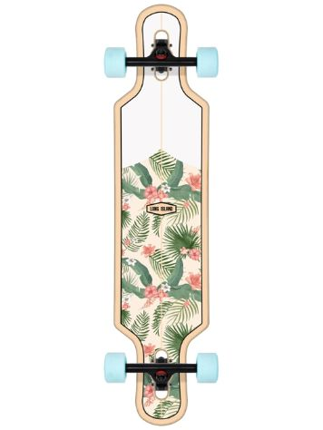 "Long Island Longboards Shaka 39.0"" Drop Through Skateboard"