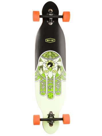 "Long Island Longboards Raise 38.5"" Essent Drop Through Skateboard"