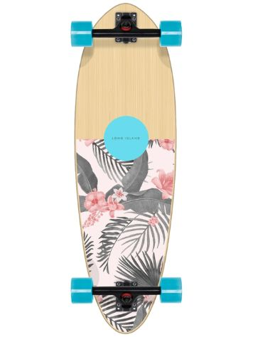 "Long Island Longboards Lei 32.75"" Mini Pintail Skateboard"