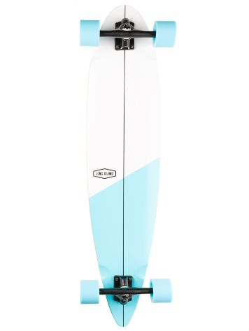 "Long Island Longboards Cross 39.0"" Essential Pintail Skateboard"