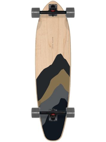 "Long Island Longboards Beat 38.0"" Kicktail Skateboard"
