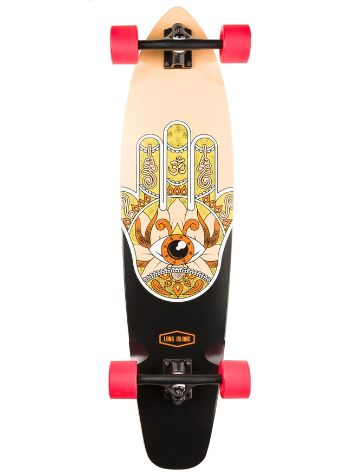 "Long Island Longboards Raise 37"" Essential Kicktail Skateboard"