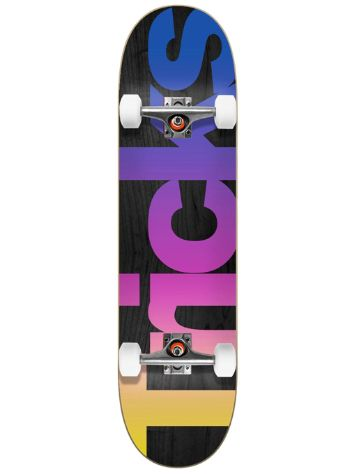 "Tricks Multicolour 7.25"" Skate Completo"