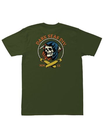 Dark Seas Justice Pigment Dyed T-Shirt