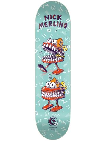 "Foundation Merlino Wind Up 8.0"" Skateboard Deck"