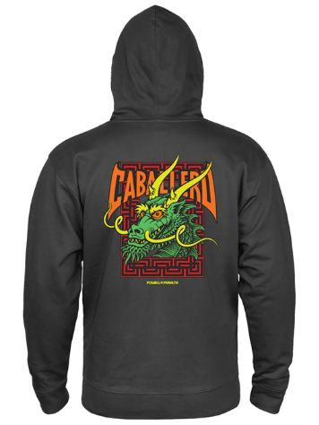 Powell Peralta Cab Street Dragon Hoodie med Dragkedja