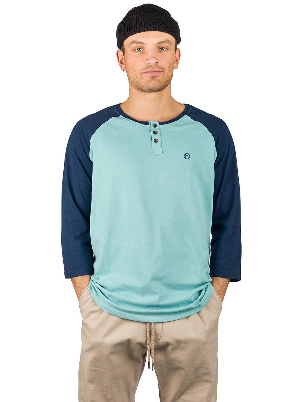 Kazane Barthol Long Sleeve T-Shirt dress blue + niles blue
