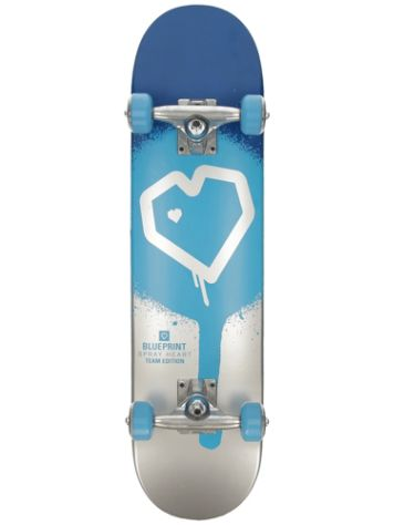 "Blueprint Spray Heart 7.25"" Complete"