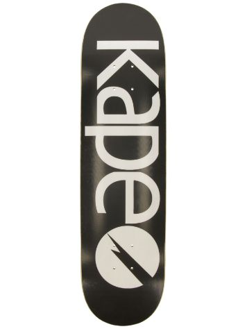 "Kape Skateboards G-Flex Black 8.0"" Skateboard Deck"