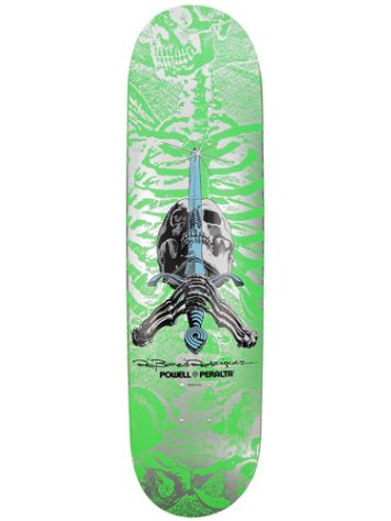 "Powell Peralta Skull&Sword Popsicle 8.0"" Skateboard Deck"