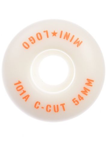Mini Logo C-Cut #3 101A 54mm Wheels