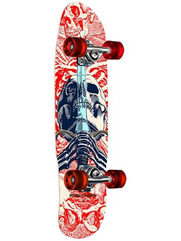 "Powell Peralta Mini Skull & Sword II 8.0"" Cruiser"