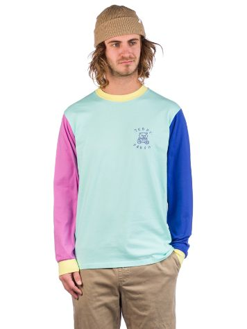Teddy Fresh Colorblock Langarmshirt