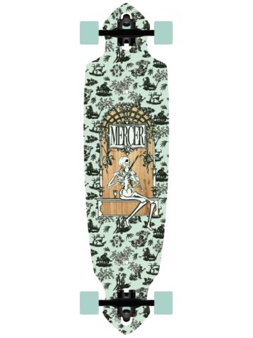 "Mercer Toile Drop Through 36"" Longboard Completo"