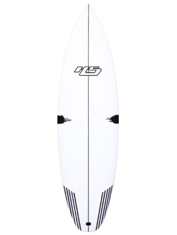 Haydenshapes White Noiz PU/Cmp Stringer Futuress 5'11