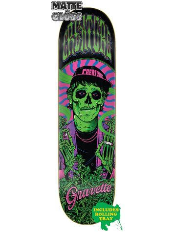 "Creature Smokers Club 8.3"" Skateboard Deck"