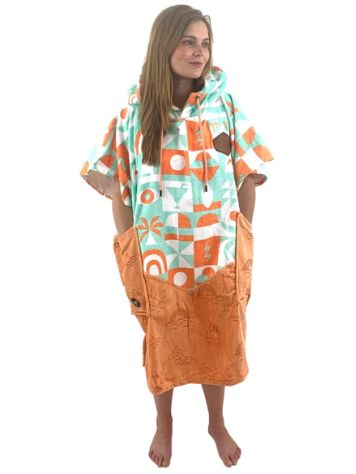 All-In Bumpy Line V Poncho