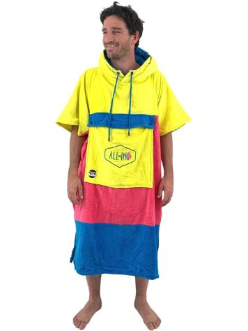 All-In Bumpy Line V Poncho de Surf