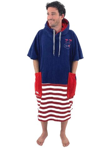 All-In Country Line V Surf poncho