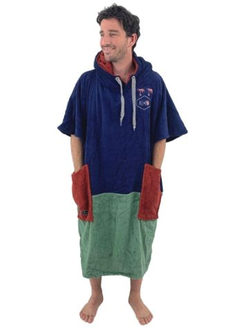 All-In Organic Line V Surf Poncho