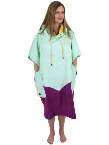 All-In Organic Line V Surfové poncho