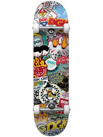 "DGK Covered Mini 7.25"" Complete"