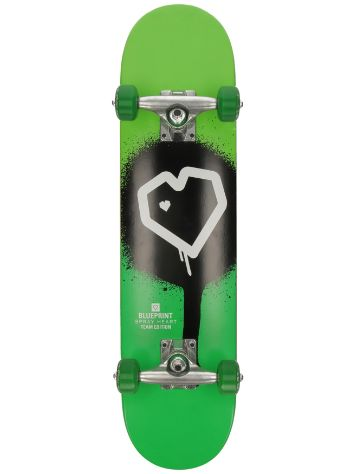 "Blueprint Spray Heart Mini 7.0"" Complete"