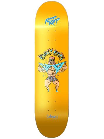 "Colours Riff Raff Burly Boys 8.5"" Skateboard Deck"