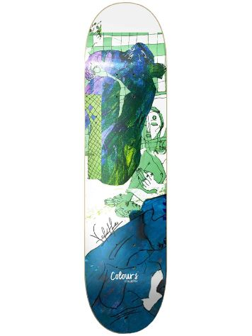 "Colours K Hoefler Collage 8.25"" Skateboard Deck"