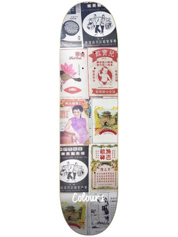 "Colours Kelvin Hoefler HK 8.25"" Skateboard Deck"