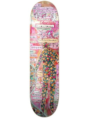 "Colours KHoefler Cell Study 8.25"" Skateboard Deck"