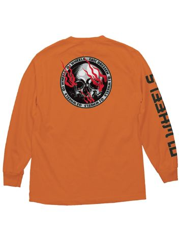 OJ Wheels Eric Dressen Skull Long Sleeve T-Shirt