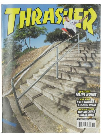 Thrasher Issues November 2019 Magazin
